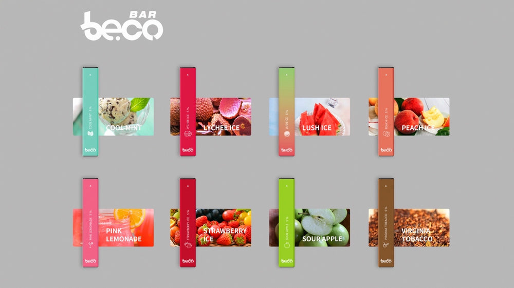 BECO BARS - DISPOSABLE 5% (20ct Box)