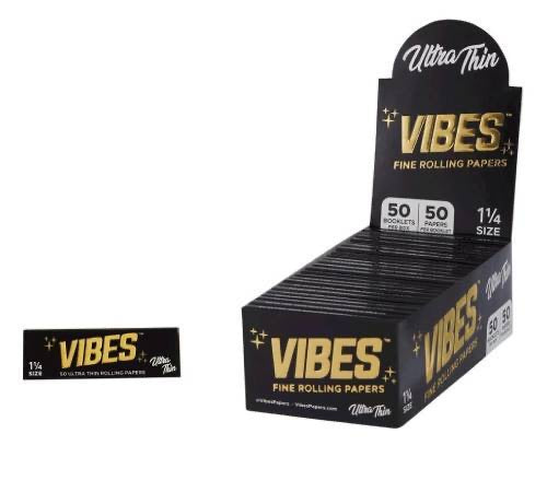 VIBES - ULTRA THIN 1 1/4 ROLLING PAPER
