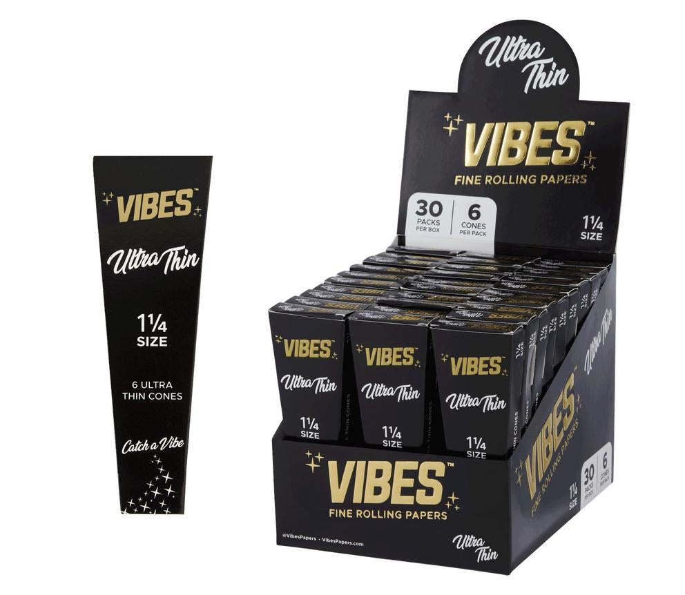 VIBES - ULTRA THIN 1 1/4 CONES