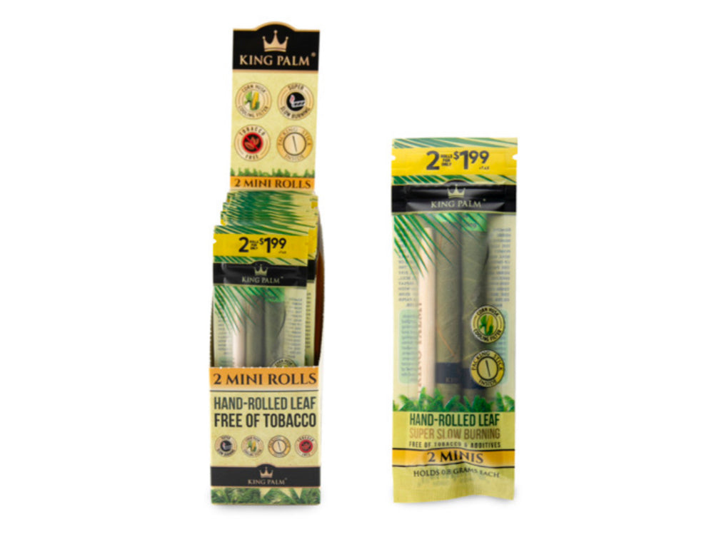 KING PALM - MINI SIZE 2pk MSRP $1.99 (20ct Box)