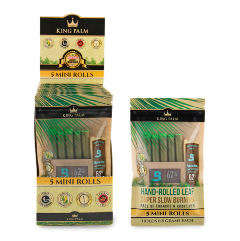 KING PALM - MINI SIZE 5pk w/BOVEDA (15ct Box)