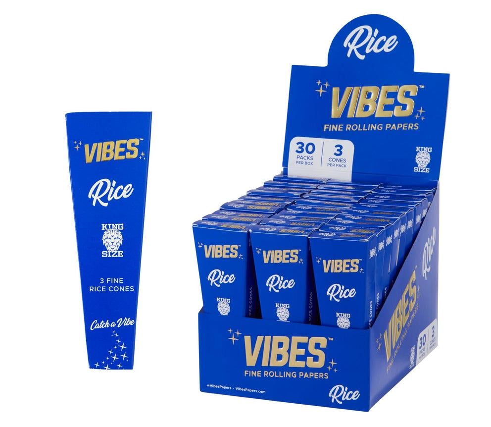 VIBES - RICE KING SIZE CONES