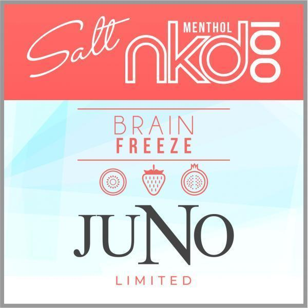 JUNO - NAKED LIMITED EDITION BRAIN FREEZE 50MG - 4 Pack Pods