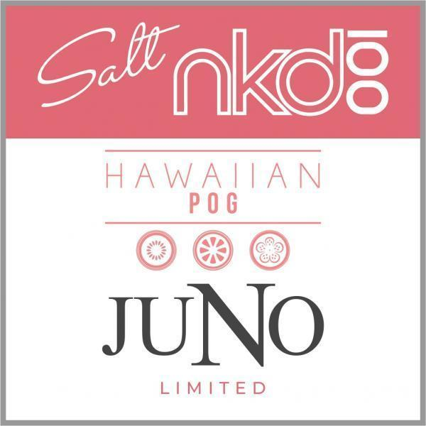 JUNO - NAKED LIMITED EDITION HAWAIIAN POG 50MG - 4 Pack Pods