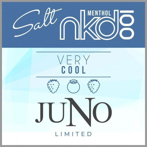 JUNO - NAKED LIMITED EDITION VERY COOL 50MG - 4 Pack Pods