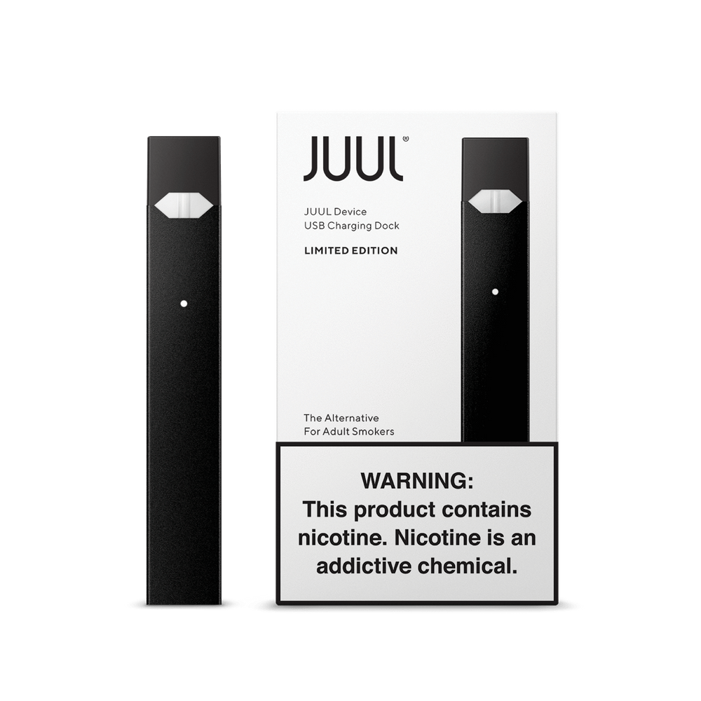 JUUL -  BASIC KIT ONYX (8ct box) LIMITED EDITION