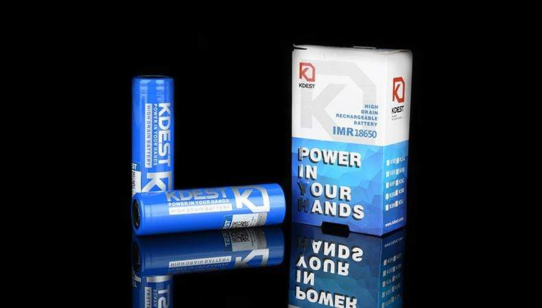 KDEST - K5A 18650 3500mAh (2ct Pack)