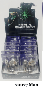 METAL PIPE 3 IN 1 (12ct Box)