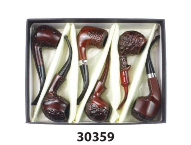 NIRVANA - ELEGANT WOOD PIPE 30359 (6ct Display)