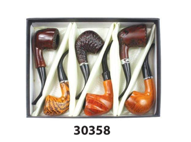NIRVANA - ELEGANT WOOD PIPE 30358 (6ct Display)