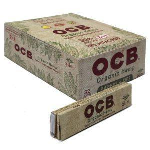 OCB ORGANIC HEMP KING SIZE SLIM + TIPS