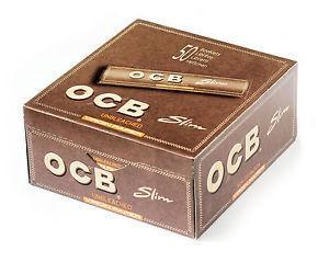 OCB VIRGIN PAPERS KING SIZE SLIM