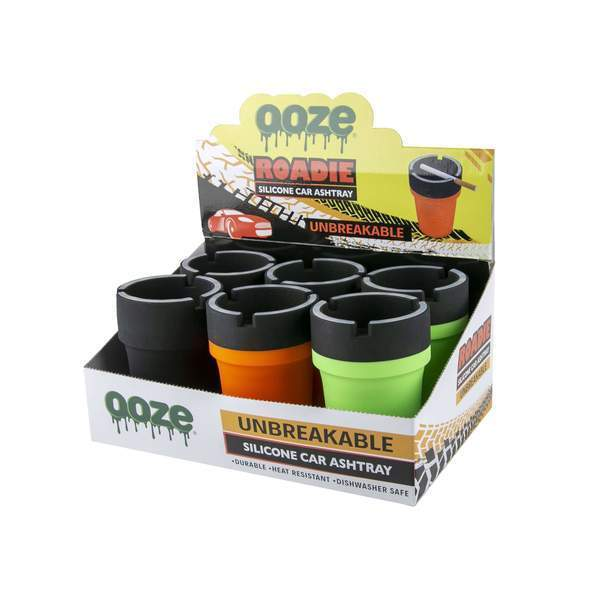 OOZE - ROADIE SILICONE ASHTARY (6ct Display)