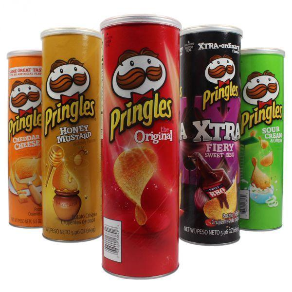 ORIGINAL PRINGLES STASH CAN