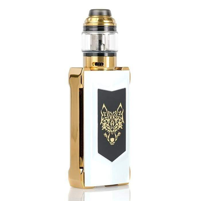 Pearl White & Gold SIGELIE - SNOWWOLF MFENG UX KIT 200w