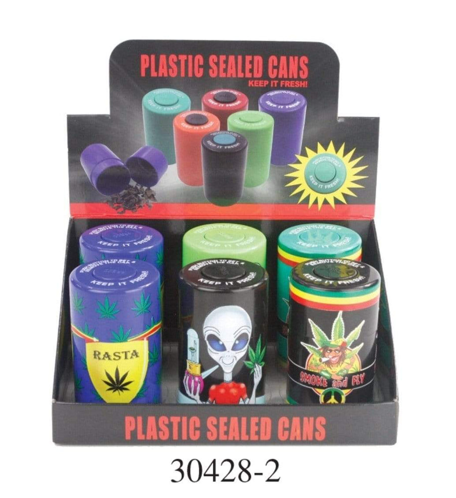PLASTIC SEALED CANS 30412-2 (6ct Display)