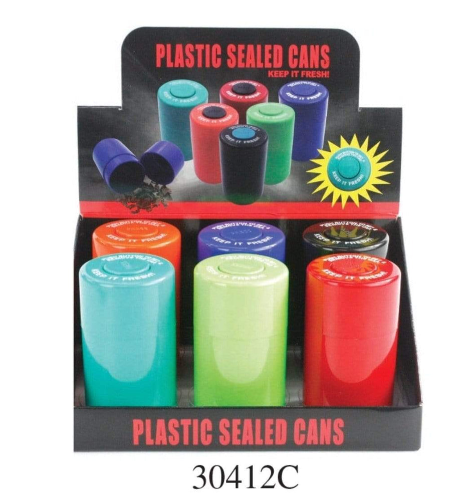 PLASTIC SEALED CANS 30412C (6ct Display)