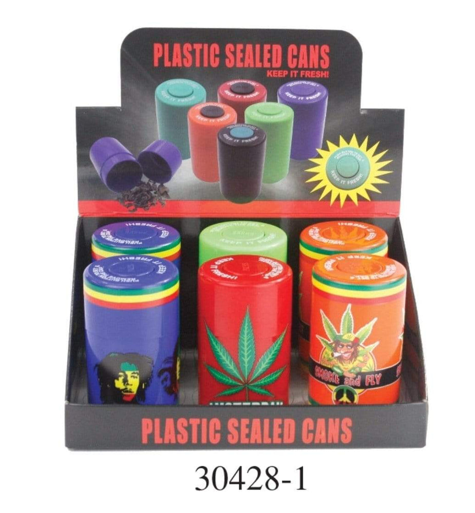 PLASTIC SEALED CANS 30428-1 (6ct Display)