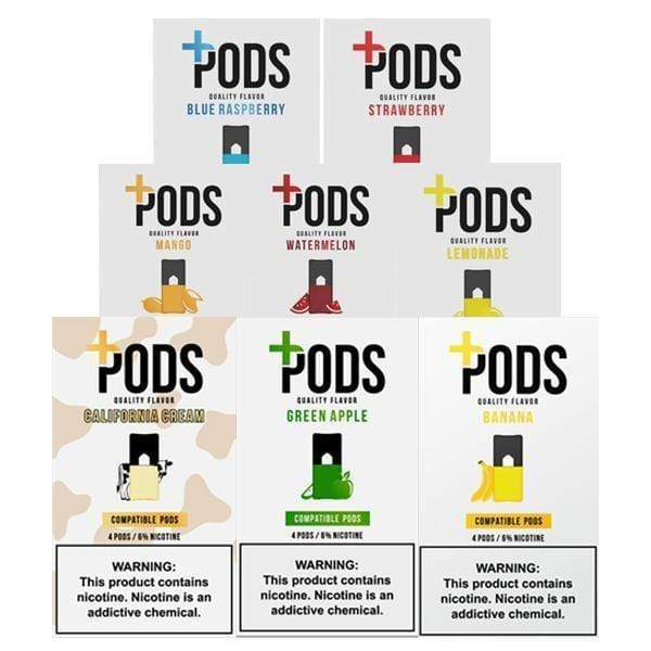 PLUS PODS -  COMPATIBLE 4pk PODS 6% (5ct Box)