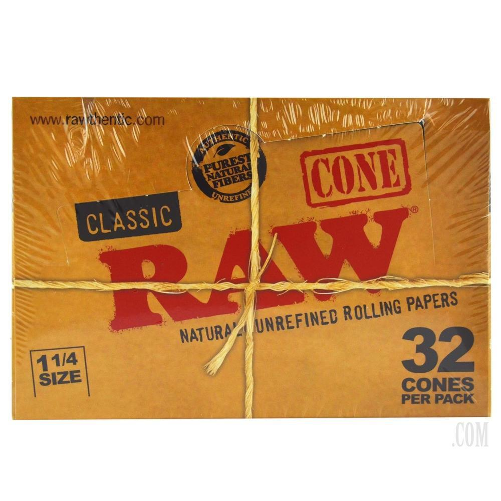 RAW - CLASSIC 32pk CONES (12ct Box)