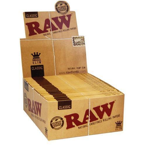 RAW CLASSIC KING SIZE SLIM - 50 count box