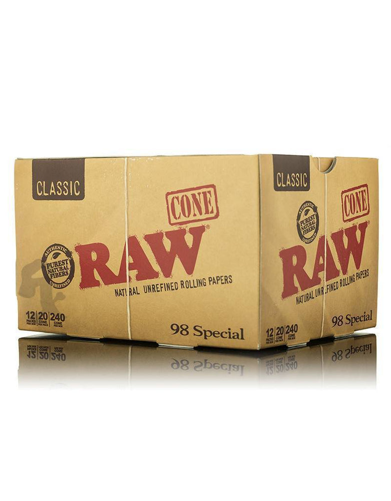 RAW - 98 SPECIAL CONES (12ct Box)