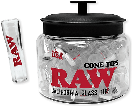 RAW - CONE GLASS TIPS (Single)
