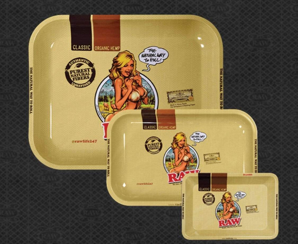 RAW - GIRL ROLLING TRAY