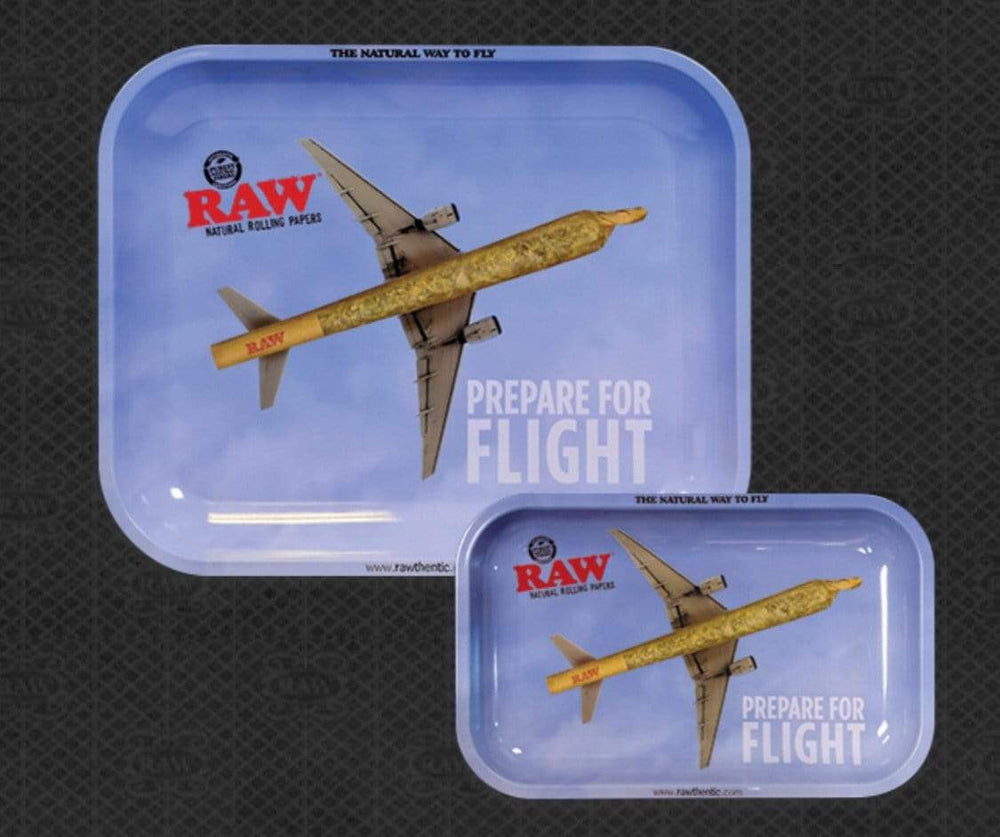 RAW - PREPARE FOR FLIGHT ROLLING TRAY