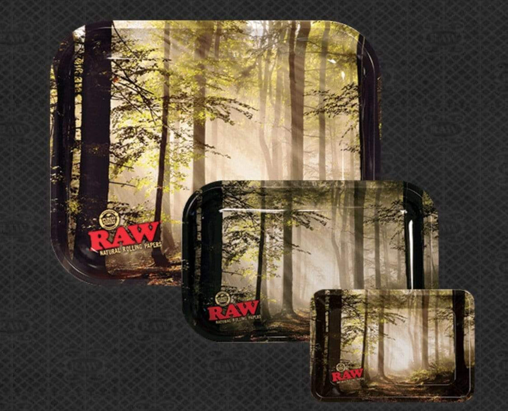 RAW - SMOKEY FOREST ROLLING TRAY