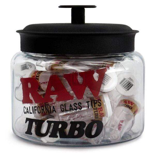 RAW - TURBO GLASS TIPS (Single)