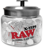 RAW - X-TIP GLASS TIPS (Single)