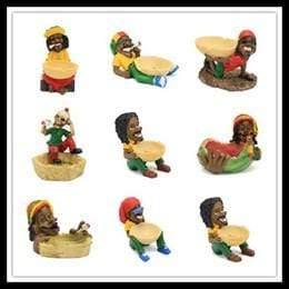 SMALL JAMAICAN ASHTRAYS