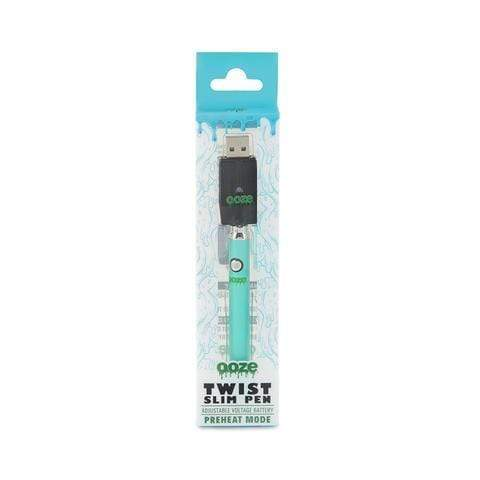 Teal OZEE - TWIST SLIM PEN