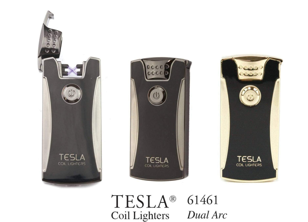 TESLA - USB LIGHTER 61461 DUAL ARC