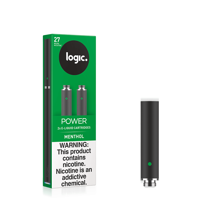 LOGIC - POWER 2pk CARTRIDGES (10ct Box)
