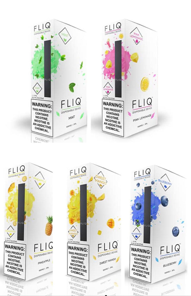 FLIQ - DISPOSABLE VAPE PEN 5% (5ct Box)
