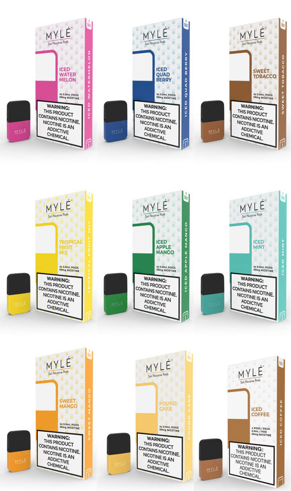MYLE - MAGNET4pk PODS 5% (5ct Box)