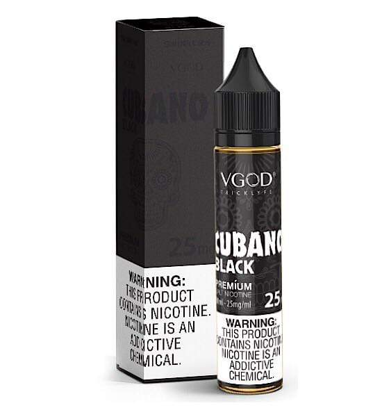 VGOD SALT NIC - CUBANO BLACK 30ML