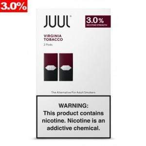 Virginia Tobacco JUUL - 2pk PODS 3% (8ct Box)