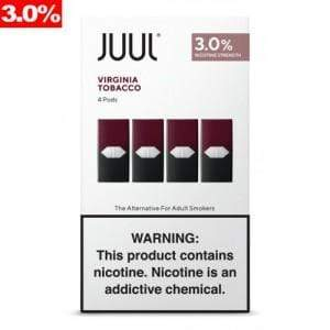 JUUL - PODS 4pk 3% (8ct Box)