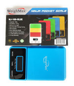 WEIGHMAX - NJ100 DREAM SERIES DIGITAL POCKET SCALE BLUE