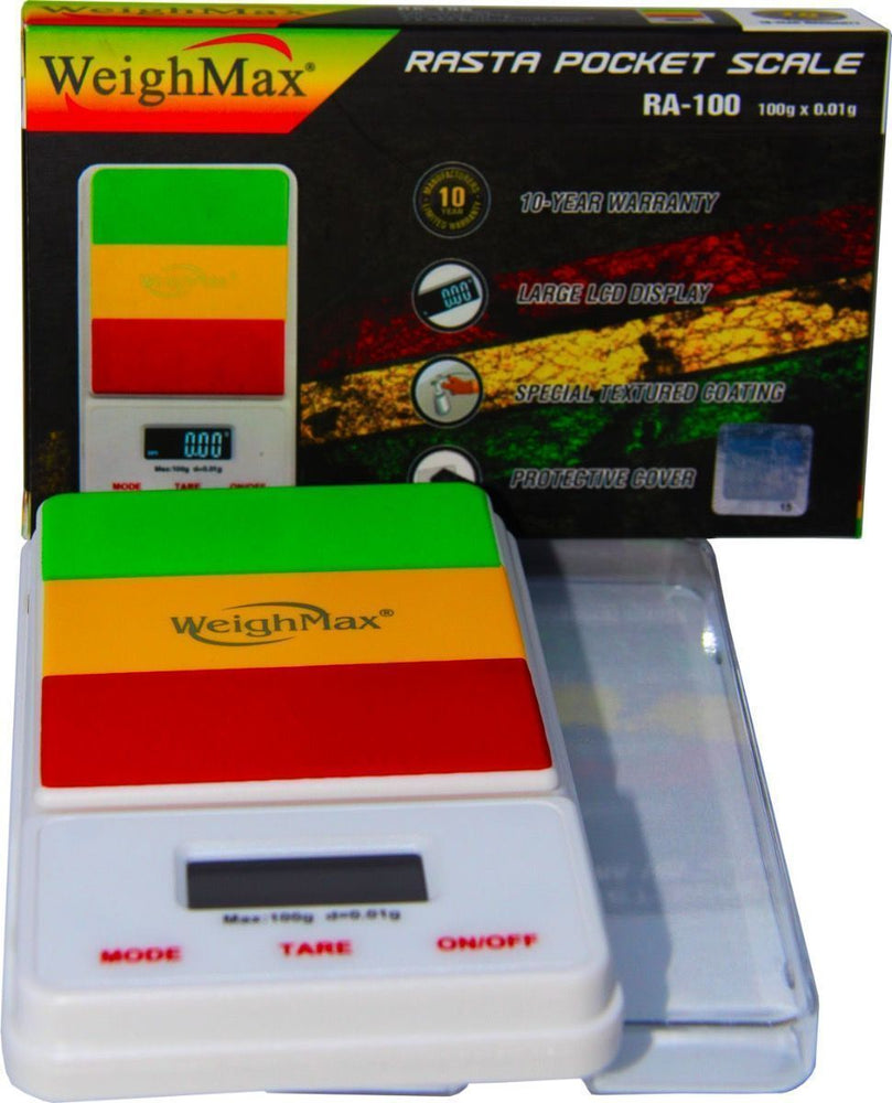 WEIGHMAX - Rasta Pocket Scale RA100 Dream Series 100 x 0.01 G
