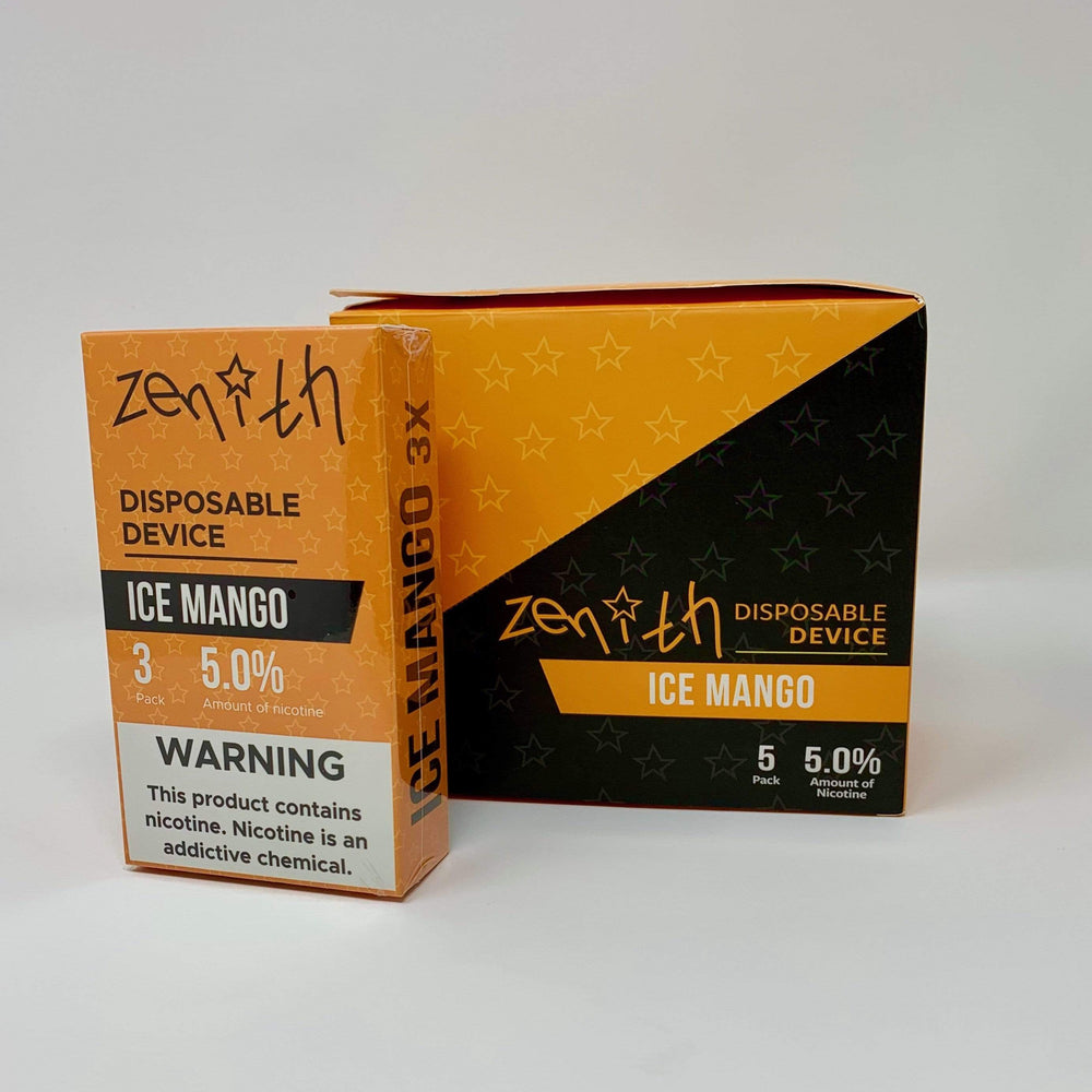 Winter Mint ZENITH - DISPOSABLE POD DEVICE 5% (15pc Box)