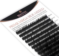 Lashia Wholesale - Mixed trays - Prime Mega Silk Lash by Beautier - 0.03