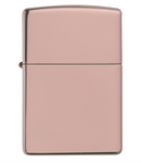 Zippo Lighter - High Polished Rose Gold - Made in USA