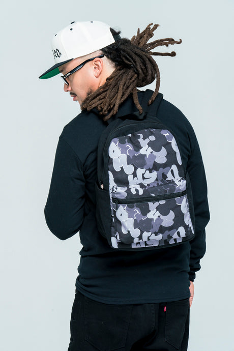 Alpha Camo Small Backpack