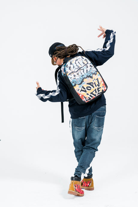Funk Style Large Backpack - Wigz & Co.