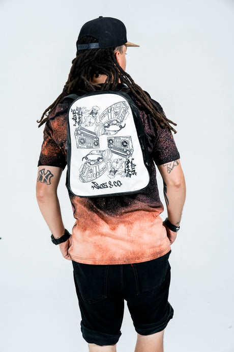 Hip Hop Collage Backpack - Wigz & Co.
