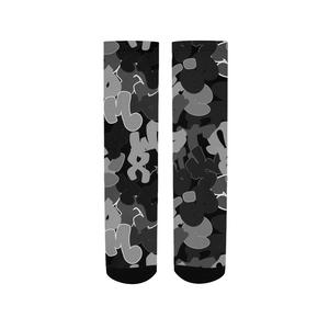 campLARGERgrey Unisex Socks (Mens)